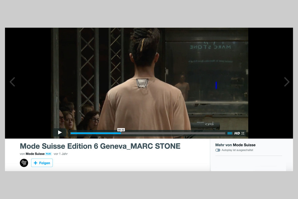 Mode Suisse (collaboration with Marc Stone), 10-10-2014