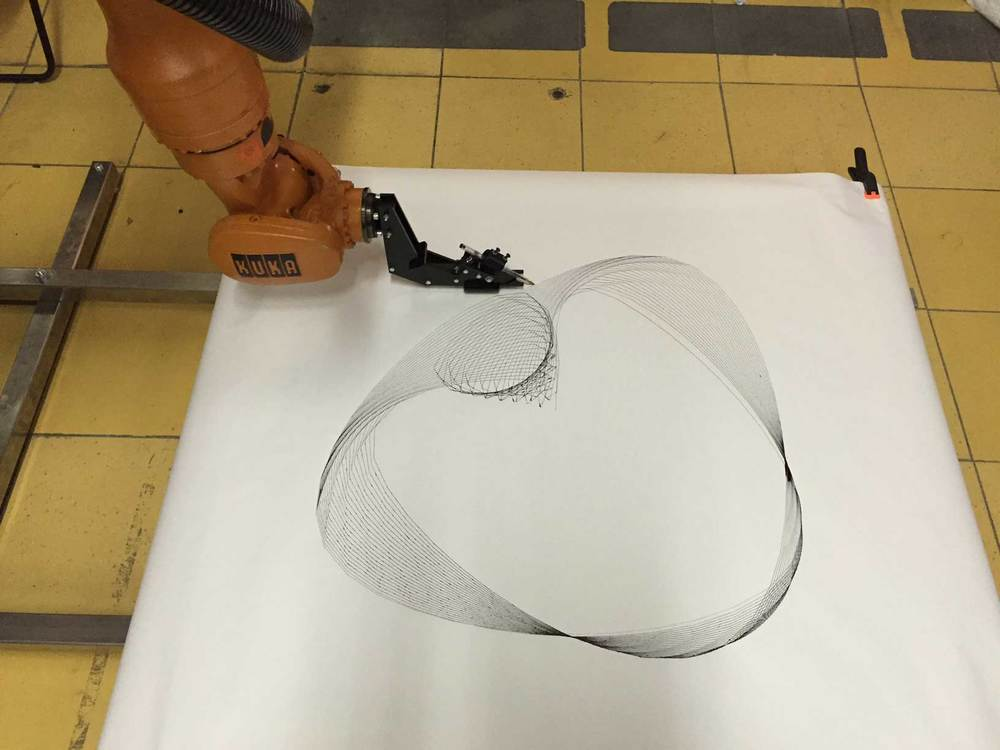 """Kuka open traces"" workshop in Milan"