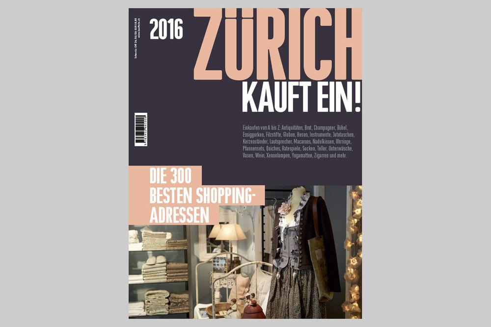 Zürich kauft ein, 2016
