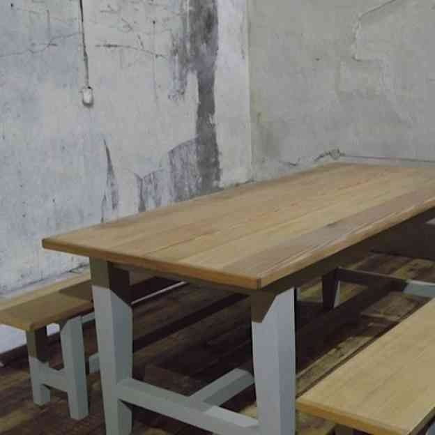 Admirable Yellow Pine Table Benches Ea Gmtry Best Dining Table And Chair Ideas Images Gmtryco