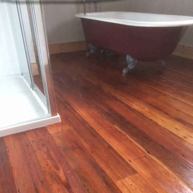 Pitch Pine Flooring, Domestic Project