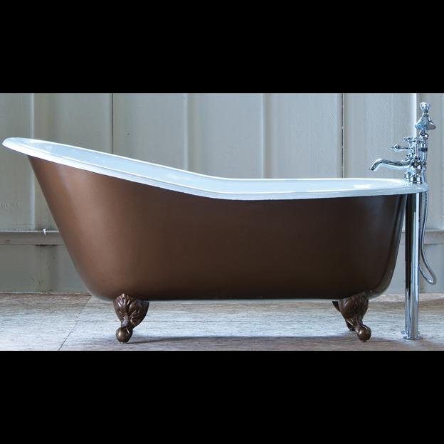 The Bordeaux Cast Iron Bath — E&A