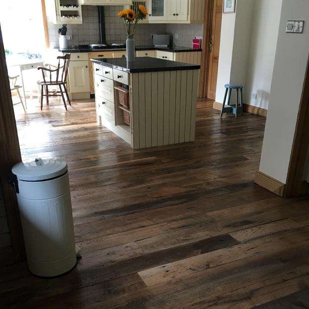Barn Oak Flooring, Domestic Project