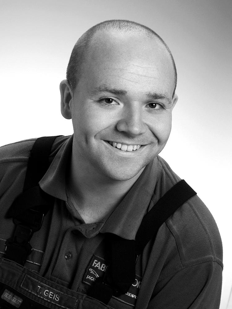 Kfz-Mechatroniker Tobias Geis