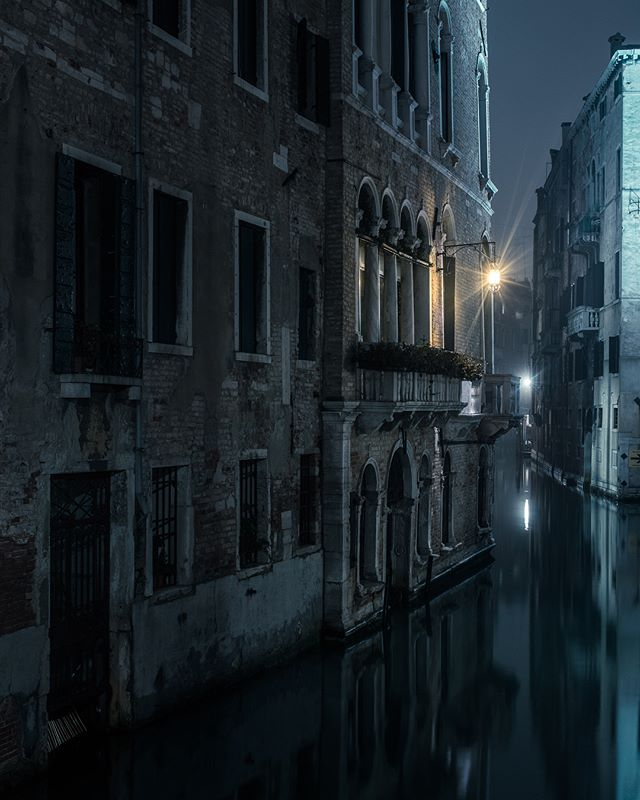 Some more from my yet to be named series of Venice. I really didn't want to shoot the canals for fear of cliches but sometimes you just have to give in. As a lover of wet roads how could I resist? Roads just don't get any wetter.
