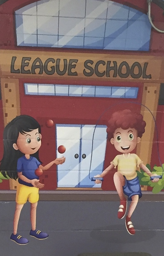 League School Cafeterial Mural