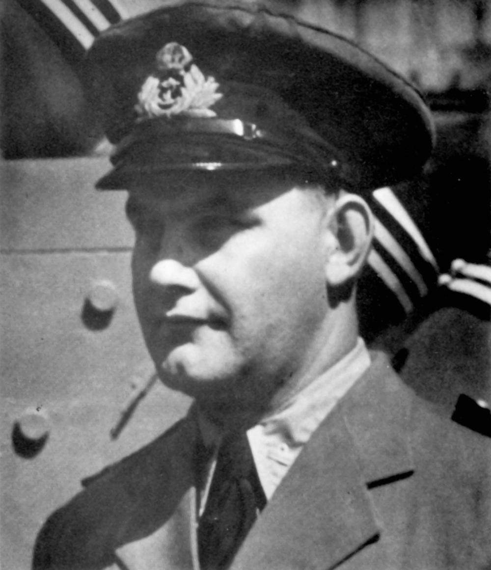 "Fred Demara is widely known as ""The Great Imposter"" for posing as Dr. Joseph Cyr, a surgeon, who enlisted in the RCN and assigned to HMCS Stadacona in March 1951. In June of that year he joined the crew of HMCS Cayuga. His most notable surgical procedures were performed on some 16 Korean War combat casualties. A quick study, it was a miracle none of his patients died during surgery. An American, Ferdinand (Fred) Waldo Demara entered Canada and became a novitiate monk in Grand Falls. For more than a decade, Demara held positions in a number of religious orders; he also impersonated a psychologist, university lecturer, college department head, school teacher, and prison warden. Despite this impressive employment record, Demara — later to become famous as ""The Great Imposter"" — had obtained and held these posts on the basis of forged, stolen or nonexistent qualifications. (DND)"