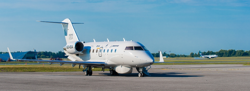 The Boeing Military Surveillance Aircraft (MSA) parked at a private airfield near the Ottawa International Airport, on Tuesday, July 28, 2015. (Richard Lawrence)