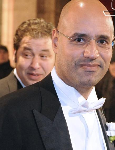 Gadhafi's son,  Saif al-Islam. (Wikimedia)
