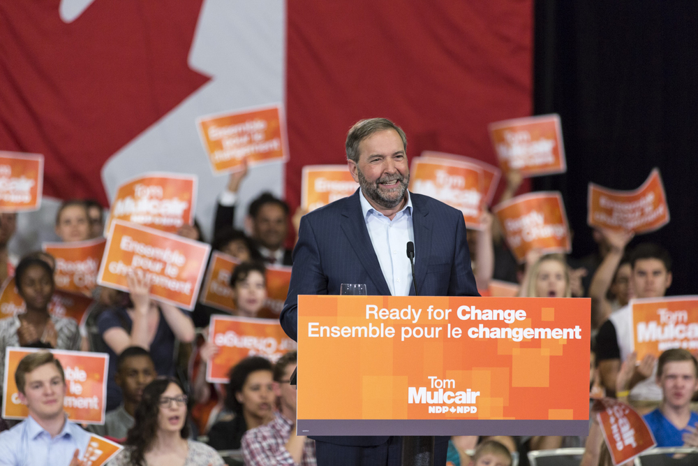 Leader of the Opposition Tom Mulcair (NDP Party)
