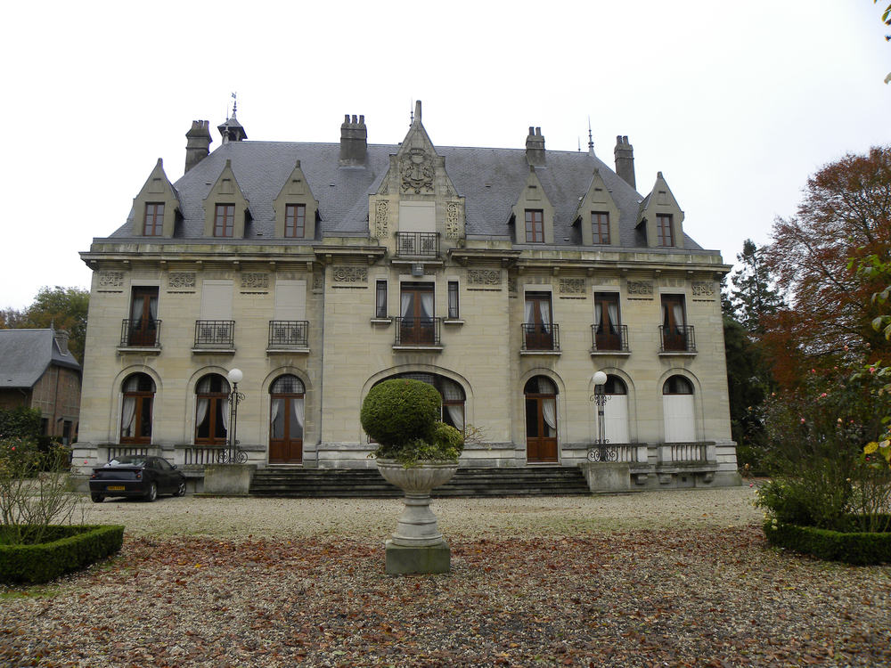 Chateau Hendecourt , located in Chateau Wood, was the objective of NO. 4 Company on September 1, 1918. It was also here that Fritz entered regimental history when his rider and accompanying orderly mistakenly rode into the clutches of the regiment. (15th Battalion Memorial Project)