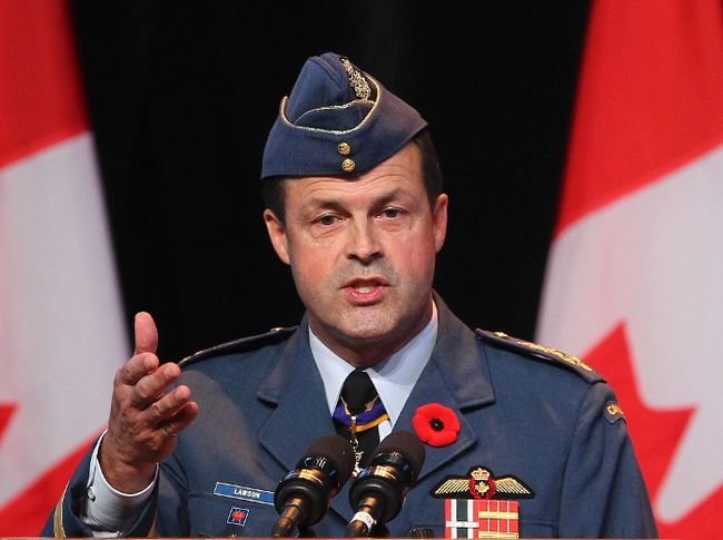 "Tom Lawson shrugs off misconduct of his troops ""because we're biologically wired..."". (Andre Forget/QMI Agency)"