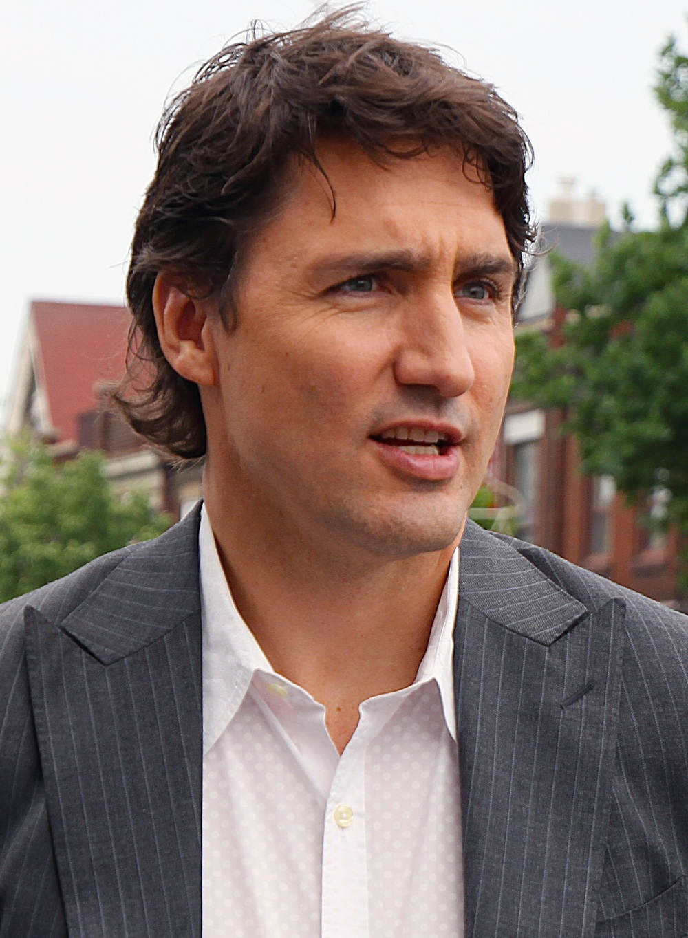Justin Trudeau says Canada will significantly increase the number of military trainers deployed in theatre. (wikimedia commons)