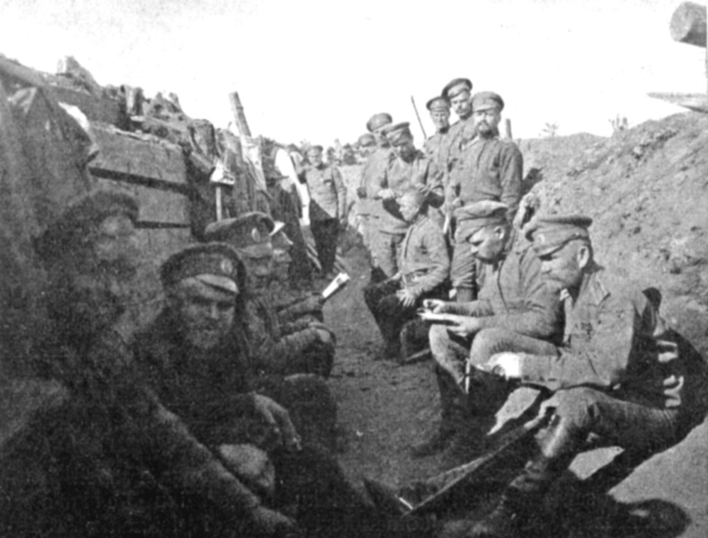 It was not just the British and French troops who published newspapers; Russian soldiers also read trench papers when available during the first World War.