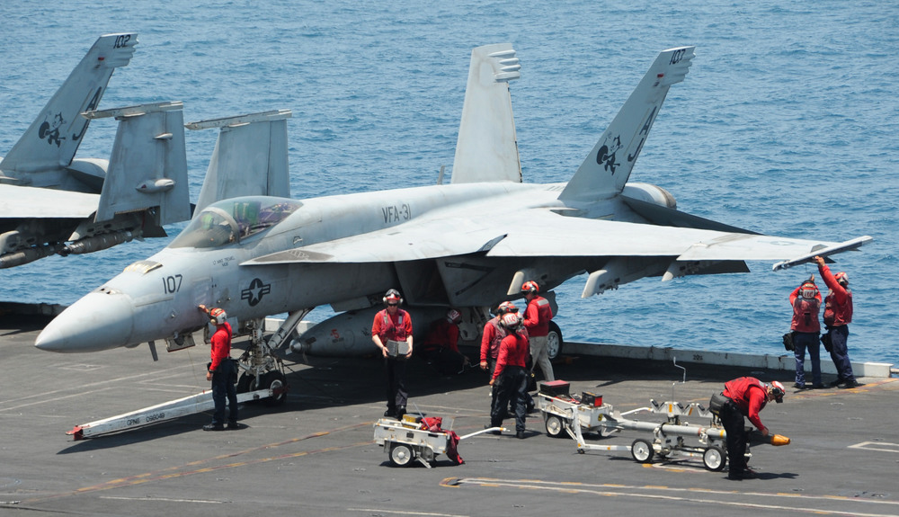 L-3 MAS in Mirabel, Quebec has been awarded a contract to inspect and modify the structure of the U.S. Navy's F/A-18 Super Hornet fleet. (U.S. Navy)