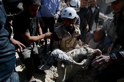 photo credit: Aleppo Media Center - Facebook