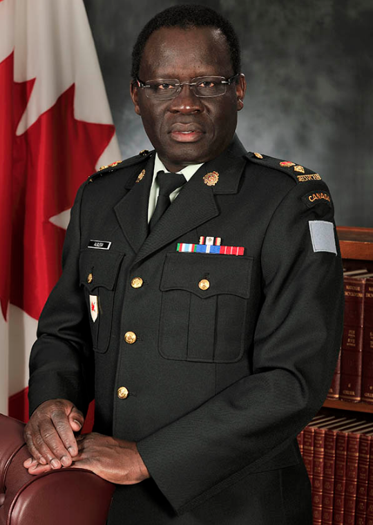 Lieutenant-Colonel Robert Alolega, Commanding Officer of 39 Service Battalion. This reserve unit of 39 Canadian Brigade Group in Richmond and Victoria, B.C. provides logistical support such as transportation, supplies, repairs and personnel to the rest of B.C.'s 3rd Canadian Division units. Photo by: MARPAC Imaging Service. ©2015 DND/MDN Canada.