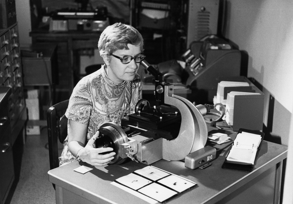 A young Vera Rubin was already observing the stars when she was an undergraduate at Vassar College, where she earned her bachelor's degree in astronomy in 1948.  (Archives & Special Collections, Vassar College Library)