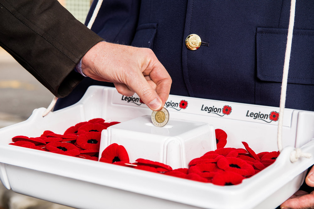 Proceeds from the Poppy Campaign provide financial assistance and spport to CAF and RCMP veterans and their families