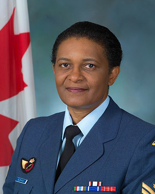 Sergeant Joan Buchanan in 2004. She retired from the Canadian Armed Forces in 2014 and now works as a civilian in personnel development at National Defence Headquarters in Ottawa. Photo: ©2004 DND/MDN Canada.
