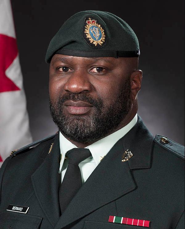 Master Corporal Ezrick Bernard. Photo by: Ordinary Seaman Elizabeth Ross. ©2016 DND/MDN Canada.