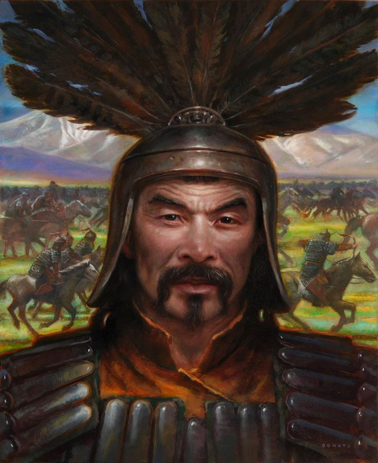 """Canada will have the relative military might of Genghis Khan"""