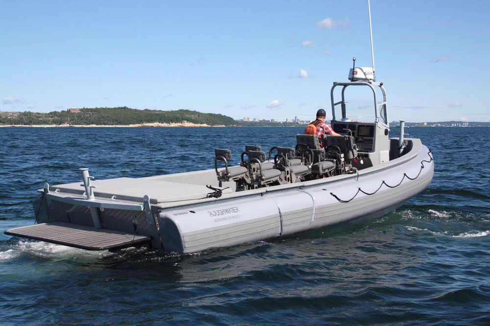 Rosborough Boats of Nova Scotia will build 12 multi-role rigid hull rescue boats, two for each of the Arctic Offshore Patrol Ships (AOPS) Irving Shipyard is building for the Royal Canadian Navy. (rosborough)