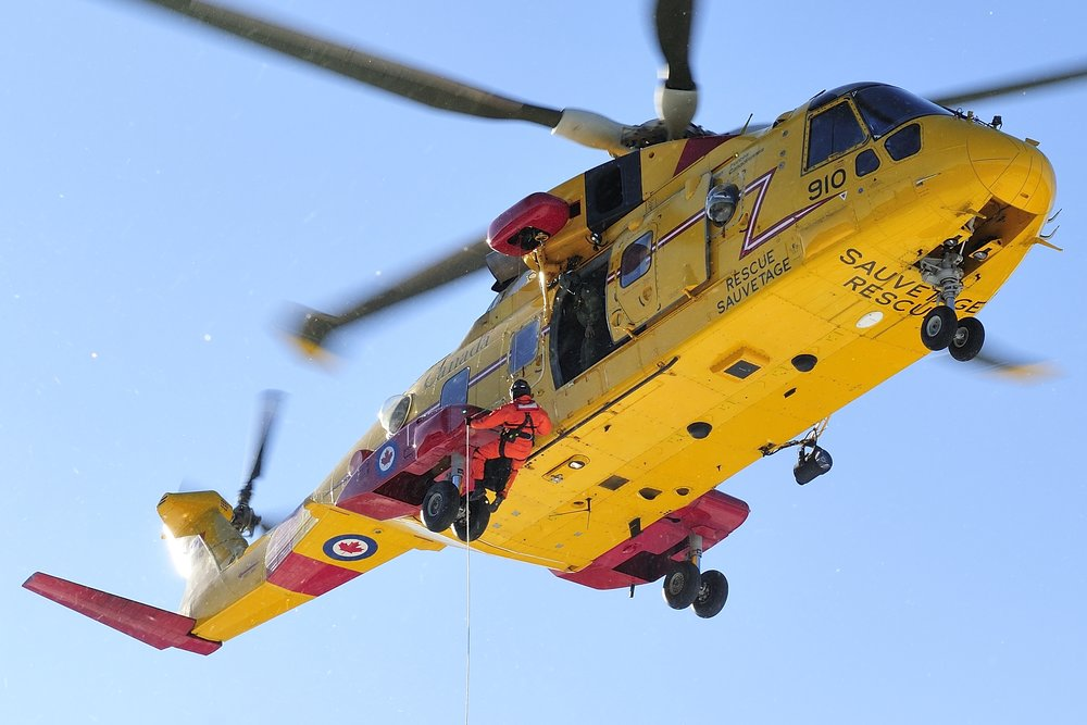 The RCAF's fleet of 14 Cormorant search and rescue helicopters will undergo a modernization program, headed by Leonardo Helicopters and IMP Aerospace.