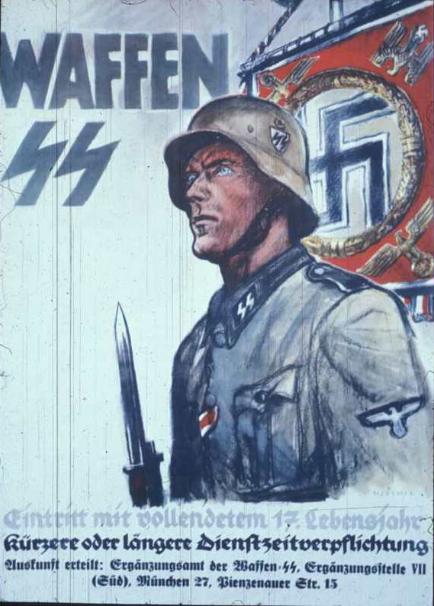 Just because Latvian SS kept fighting Soviet Communism after WW2 does not make them heroes. https://megingjord88.deviantart.com