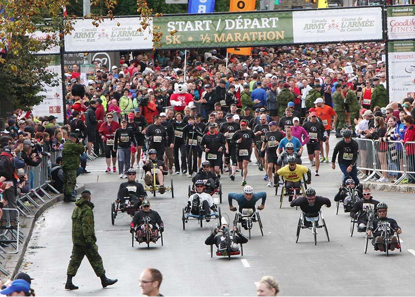Canada Army Run 2017