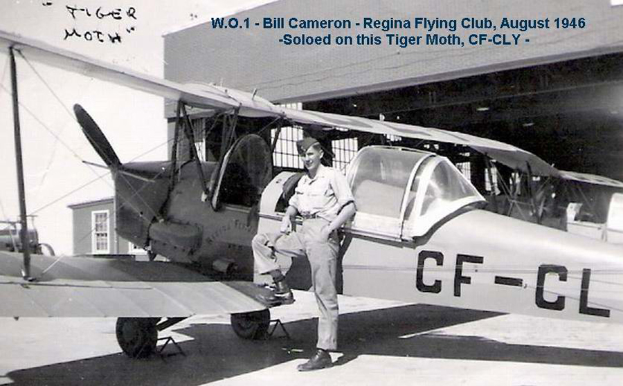 Bill Cameron was just 17 in 1946, when he got his wings and learned to fly a Tiger Moth through the Air Cadets in Regina. The crash of Dakota 962 in September 1946 remains a vivid memory as he had probably seen several of those officers at the airport while undergoing his flight training.