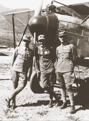 József Kiss (left), István Kirják (centre) and Sandor Kasza pose before a Oeffag-Albatros D.III. On May 24, 1918 these three Hungarians of Flik 55/J engaged Camels of No. 66 flown by Bill Barker, Gordon Apps and Gerald Birks. Credited with 19 aerial victories, Kiss was the most successful Hungarian ace in the war until he was bested by Birks. (all photos courtesy aaron weaver)