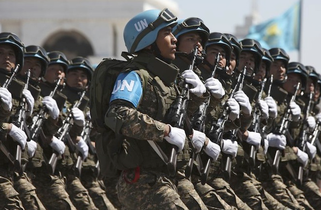 Well trained, well disciplined and highly motivated the Kazakhstan Armed Forces are looking to expand their presence on Global Peacekeeping Operations