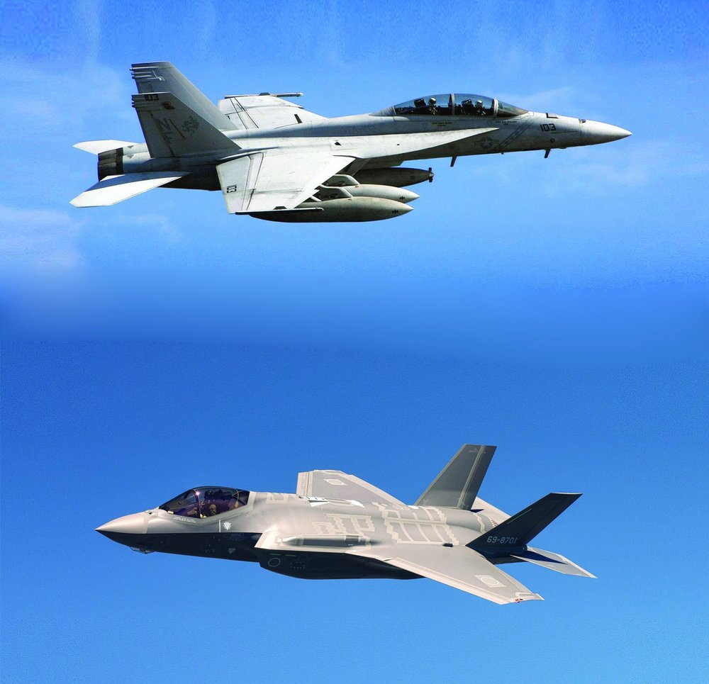 "In November 2016, Defence Minister Harjit Sajjan announced that his government was going to ""enter into discussions immediately with Boeing on the acquisition of 18 Super Hornets (pictured top left) to address the [CF-18] capability gap."" In June 2017, following Boeing's lawsuit against Bombardier, Defence Minister Harjit Sajjan said the government was ""looking at many different options"" for finding 18 fighter jets as a stop-gap solution to Canada's aging CF-18 fleet. Thus, the door could once again opened for Lockheed Martin's F-35 Lighting II aircraft"