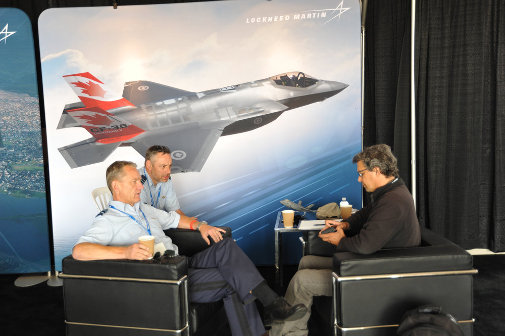 Esprit de Corps writer David Pugliese interviews the head of the Dutch air force, LGen Dennis Luyt, about the progress on the Netherlands' purchase of the F-35 as well as aircrew training on the new fighter. The Netherlands purchased an initial order of eight F-35As as the replacement for its F-16 fighter jets, with delivery due in 2018. (mark pugliese)