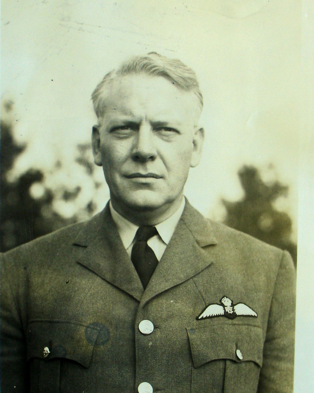 "An experienced pilot, Flying Officer Lloyd ""Brookie"" Brooks, an American, had flown as a commercial pilot in the U.S. In February 1940, he applied for enlistment into the RCAF."