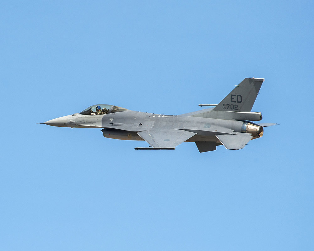 """the F-16 remains a front-line aircraft today in either role"""
