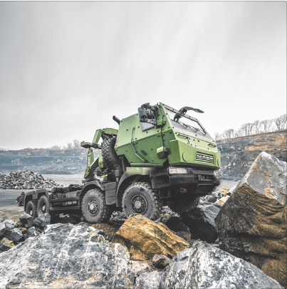 Mack Defense — through its Canadian partner Prévost — has been contracted to deliver more than 1,500 8x8 trucks as part of the Canadian military's Medium Support Vehicle System (MSVS) Standard Military Pattern (SMP) program in multiple variants. The firm will also provide an initial five years of in-service support for the SMP fleet operating in Canada and throughout the world. Mack will also provide 300 trailers and 150 armour protection systems as part of the two contracts valued at $725 million CAD. Deliveries will begin in the fall of 2017 with completion expected in 2019. (Mack Defense)