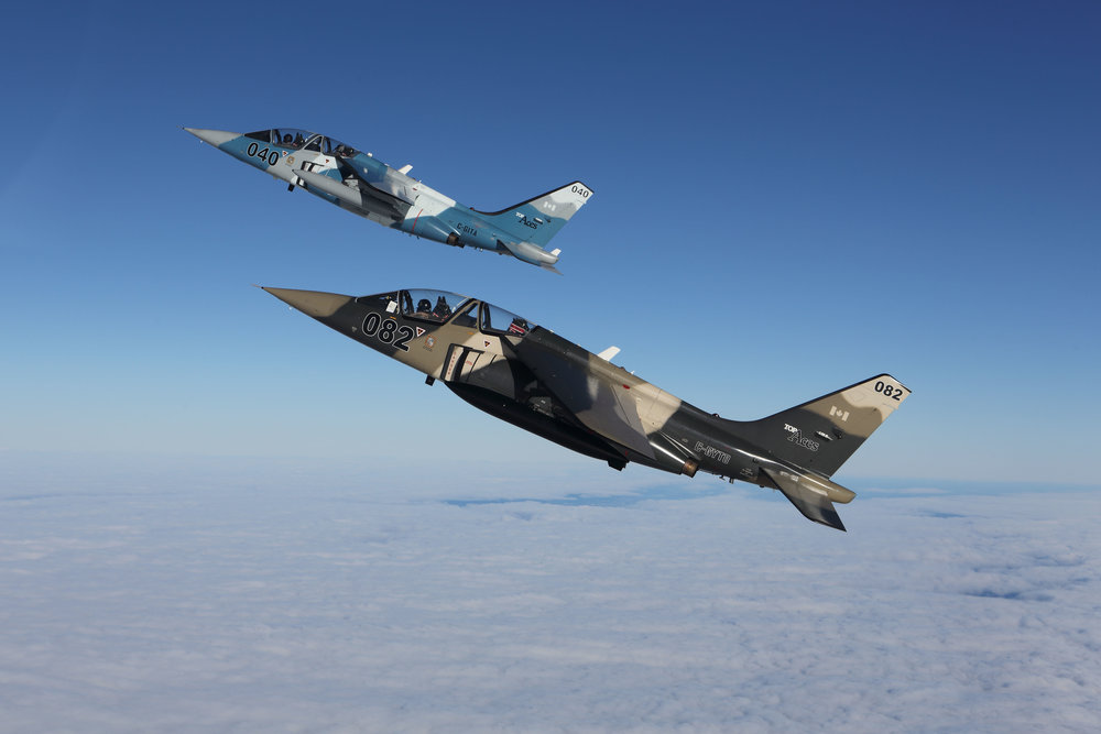 Discovery Air Defence operates a fleet of modified Dornier Alpha Jet aircraft in the airborne training services role that have been upgraded to provide maximum safety for the aircrew and maximum operational flexibility to the customer. (h-p grolleau)