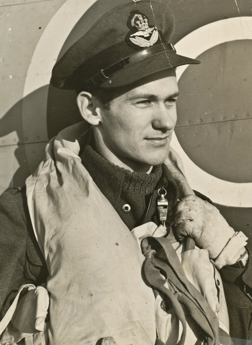 F/L Wally Ward, who flew Typhoons with RCAF No. 440 Squadron, was at Eindhoven when the Luftwaffe attacked on New Year's Day, 1945
