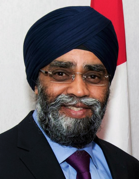 Minister of National Defence Harjit Sajjan
