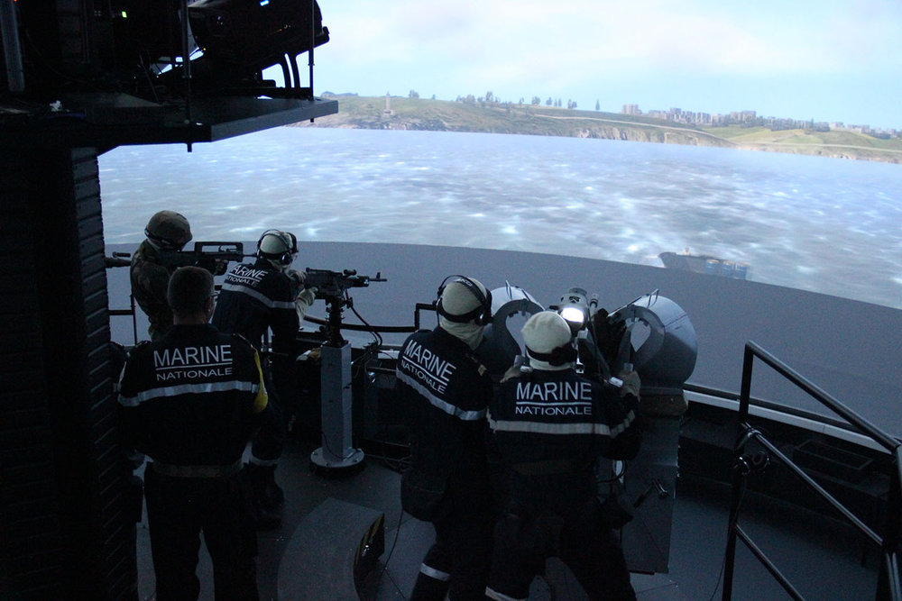 Naval Group has delivered a brand new visual defence simulator (Simdav) to the French Navy in Brest. The new systems will allow the crews of the French Naval Action Force to train under realistic conditions. (naval defence)