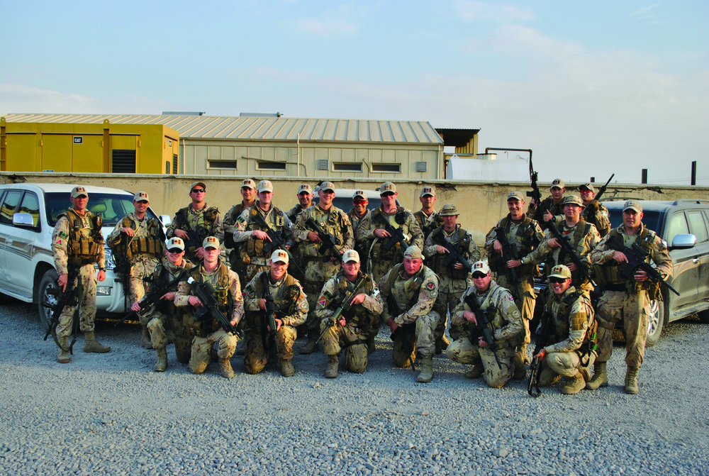 Gerry's Force Protection Platoon in Kabul 2011, 3PPCLI