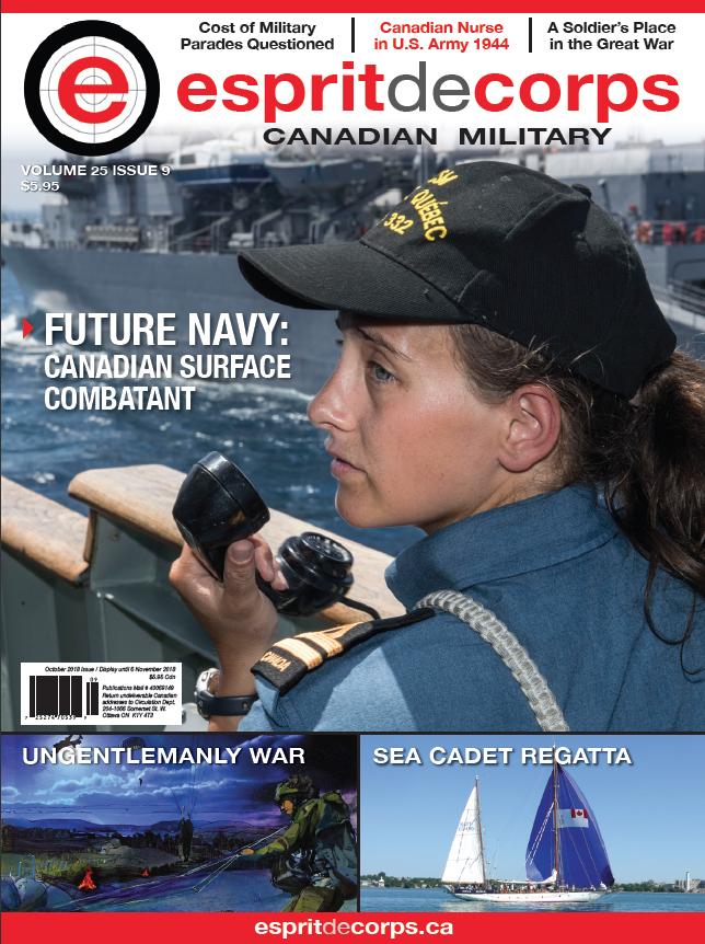 October 2018: Future Navy: Canadian Surface Combatant — espritdecorps