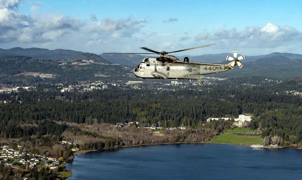 The Sea King helicopter is retiring after 55 years of service.