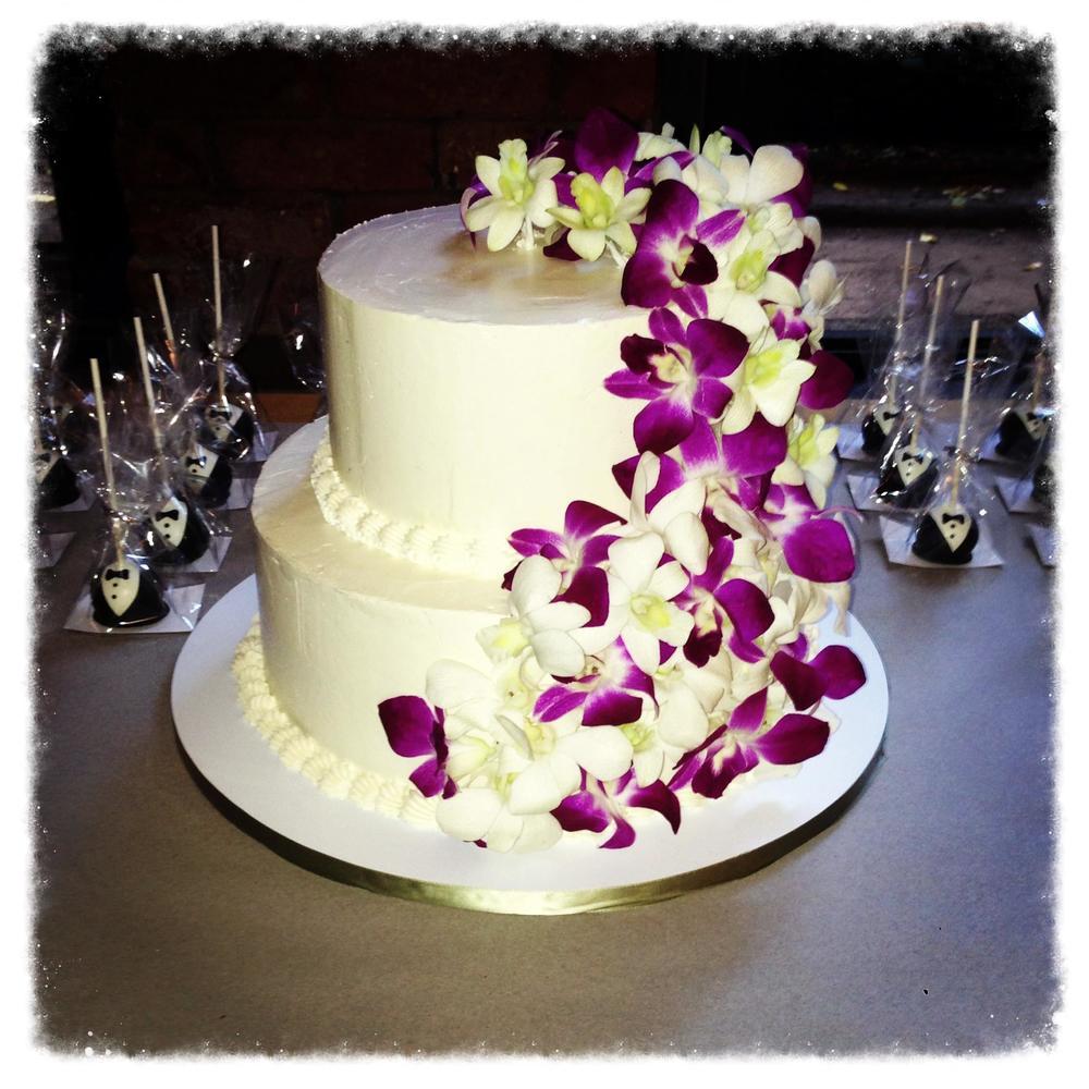 white orchids wedding cake orchid wedding cake jpg