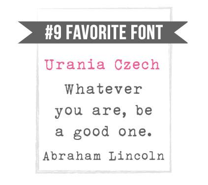 Urania Czech Grunge Font