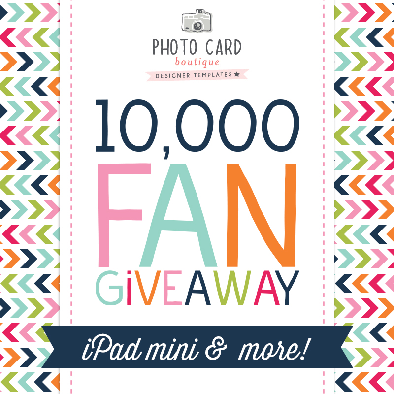 Win an iPad mini from Photo Card Boutique! #PCB