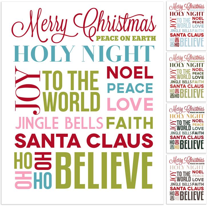 Christmas Subway Art Free Printable.Christmas Subway Art Free Printable Angie Sandy Art