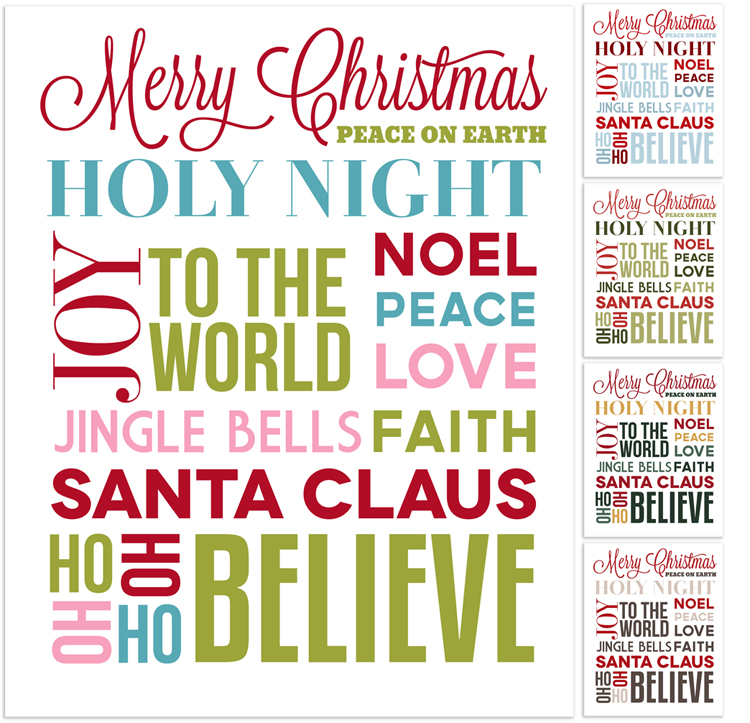 Christmas Subway Art.Christmas Subway Art Free Printable Angie Sandy Art